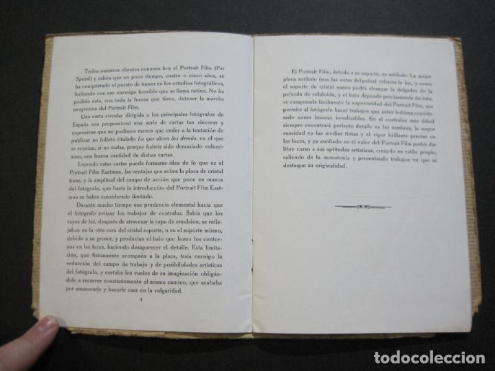 Cámara de fotos: KODAK-EL PORTRAIT FILM EASTMAN-CATALOGO PUBLICIDAD FOTOGRAFIA-VER FOTOS-(K-1558) - Foto 5 - 233302465