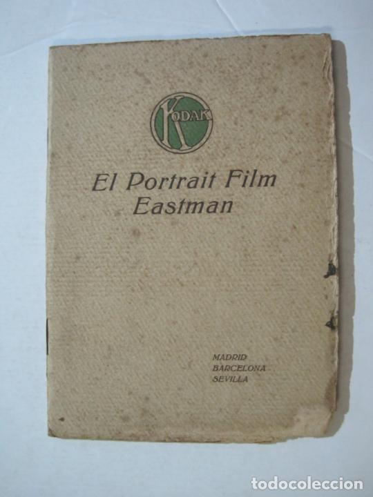 KODAK-EL PORTRAIT FILM EASTMAN-CATALOGO PUBLICIDAD FOTOGRAFIA-VER FOTOS-(K-1558) (Cámaras Fotográficas - Catálogos, Manuales y Publicidad)