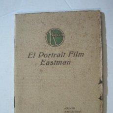 Cámara de fotos: KODAK-EL PORTRAIT FILM EASTMAN-CATALOGO PUBLICIDAD FOTOGRAFIA-VER FOTOS-(K-1558). Lote 233302465