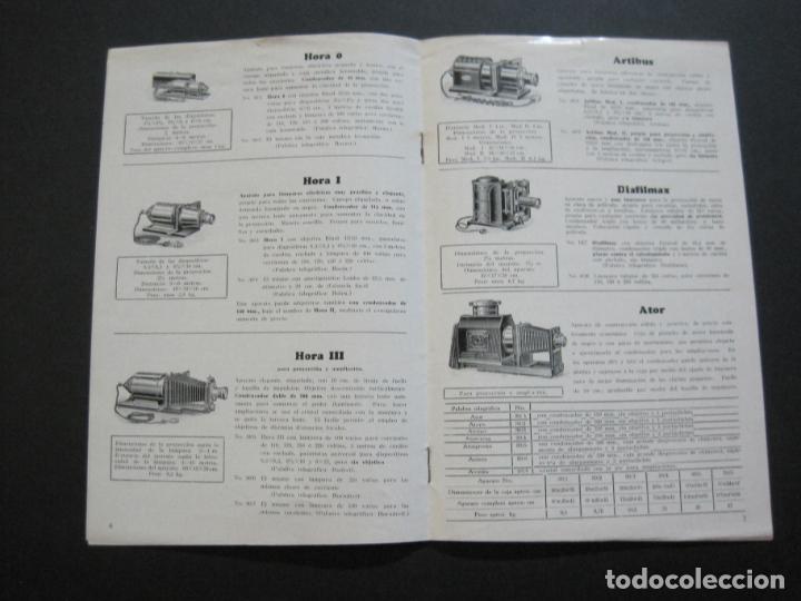 APARATOS DE PROYECCION LIESEGANG-CATALOGO PUBLICIDAD FOTOGRAFIA-VER FOTOS-(K-1559) (Cámaras Fotográficas - Catálogos, Manuales y Publicidad)