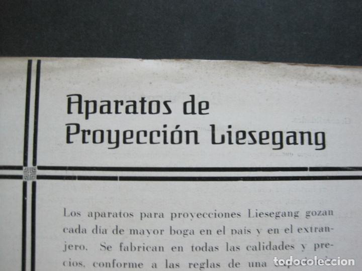 Cámara de fotos: APARATOS DE PROYECCION LIESEGANG-CATALOGO PUBLICIDAD FOTOGRAFIA-VER FOTOS-(K-1559) - Foto 3 - 233302985