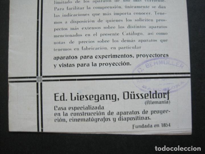 Cámara de fotos: APARATOS DE PROYECCION LIESEGANG-CATALOGO PUBLICIDAD FOTOGRAFIA-VER FOTOS-(K-1559) - Foto 4 - 233302985
