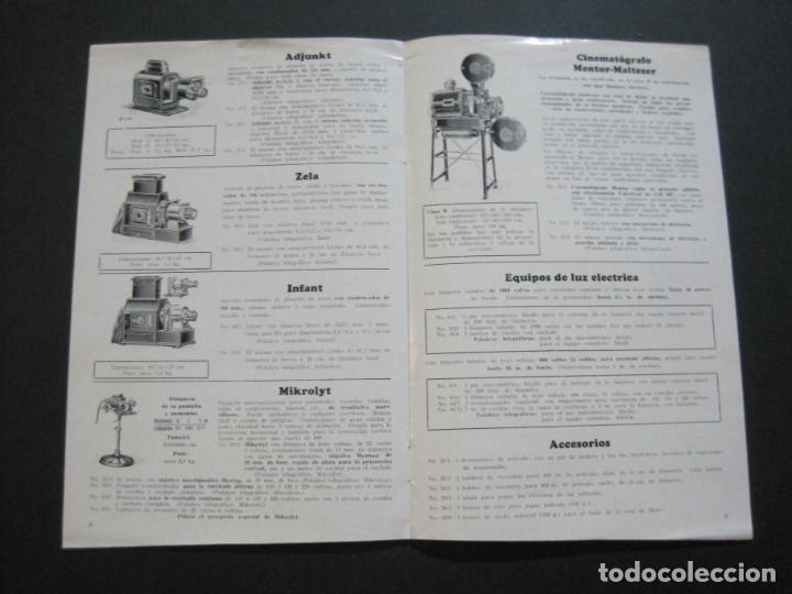 Cámara de fotos: APARATOS DE PROYECCION LIESEGANG-CATALOGO PUBLICIDAD FOTOGRAFIA-VER FOTOS-(K-1559) - Foto 6 - 233302985