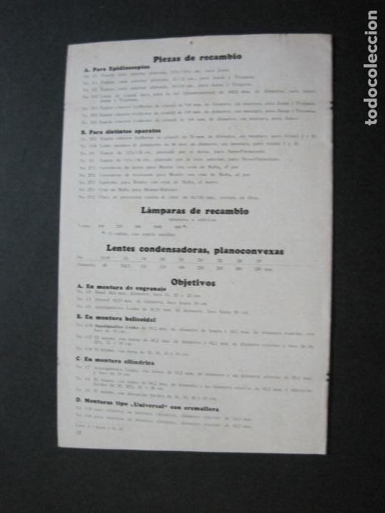 Cámara de fotos: APARATOS DE PROYECCION LIESEGANG-CATALOGO PUBLICIDAD FOTOGRAFIA-VER FOTOS-(K-1559) - Foto 9 - 233302985