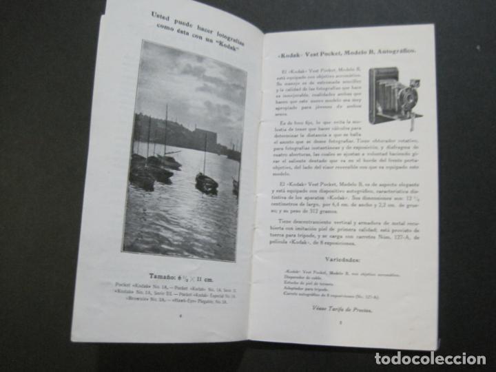 Cámara de fotos: KODAK-CATALOGO PUBLICIDAD FOTOGRAFIA-VER FOTOS-(K-1563) - Foto 6 - 233305265