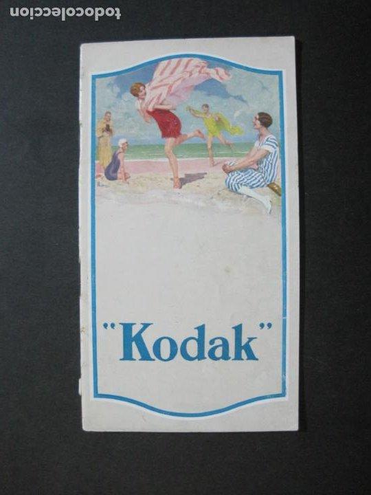 KODAK-CATALOGO PUBLICIDAD FOTOGRAFIA-VER FOTOS-(K-1563) (Cámaras Fotográficas - Catálogos, Manuales y Publicidad)