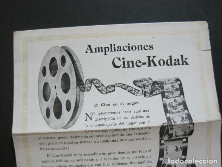 Cámara de fotos: KODAK-AMPLIACIONES CINE KODAK-CATALOGO PUBLICIDAD FOTOGRAFIA-VER FOTOS-(K-1564) - Foto 2 - 233305590