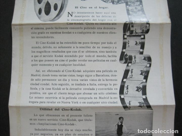 Cámara de fotos: KODAK-AMPLIACIONES CINE KODAK-CATALOGO PUBLICIDAD FOTOGRAFIA-VER FOTOS-(K-1564) - Foto 3 - 233305590