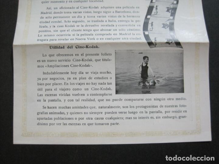Cámara de fotos: KODAK-AMPLIACIONES CINE KODAK-CATALOGO PUBLICIDAD FOTOGRAFIA-VER FOTOS-(K-1564) - Foto 4 - 233305590
