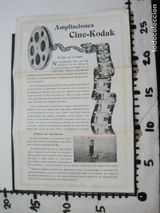 Cámara de fotos: KODAK-AMPLIACIONES CINE KODAK-CATALOGO PUBLICIDAD FOTOGRAFIA-VER FOTOS-(K-1564) - Foto 7 - 233305590