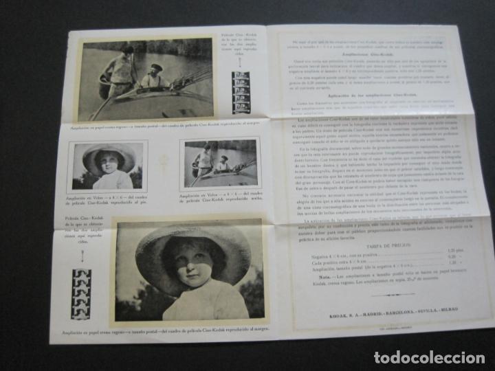 Cámara de fotos: KODAK-AMPLIACIONES CINE KODAK-CATALOGO PUBLICIDAD FOTOGRAFIA-VER FOTOS-(K-1564) - Foto 5 - 233305590
