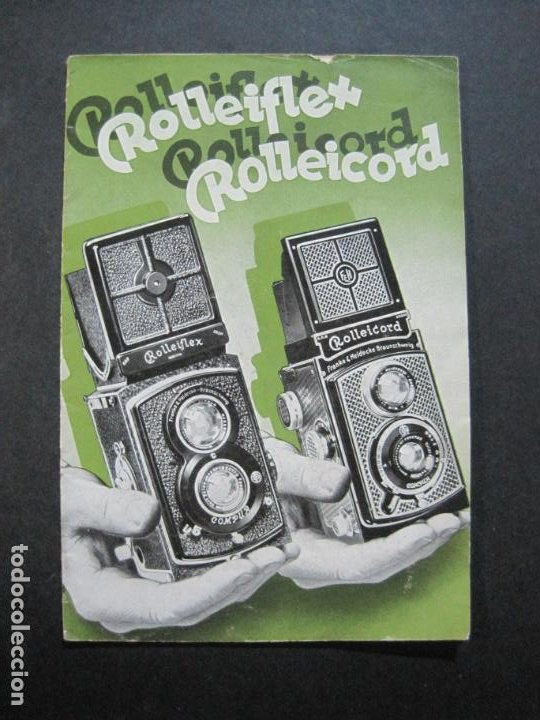ROLLEIFLEX & ROLLEICORD-CATALOGO PUBLICIDAD FOTOGRAFIA-VER FOTOS-(K-1570) (Cámaras Fotográficas - Catálogos, Manuales y Publicidad)