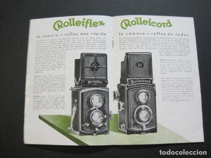 Cámara de fotos: ROLLEIFLEX & ROLLEICORD-CATALOGO PUBLICIDAD FOTOGRAFIA-VER FOTOS-(K-1570) - Foto 6 - 233308225