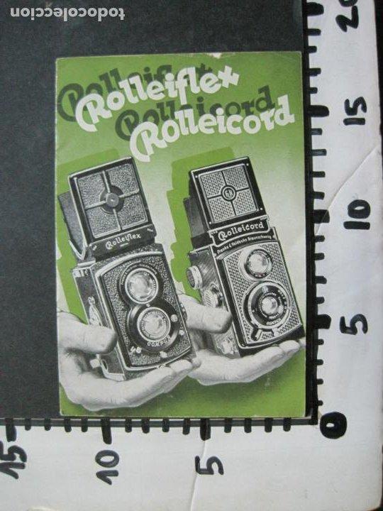 Cámara de fotos: ROLLEIFLEX & ROLLEICORD-CATALOGO PUBLICIDAD FOTOGRAFIA-VER FOTOS-(K-1570) - Foto 11 - 233308225
