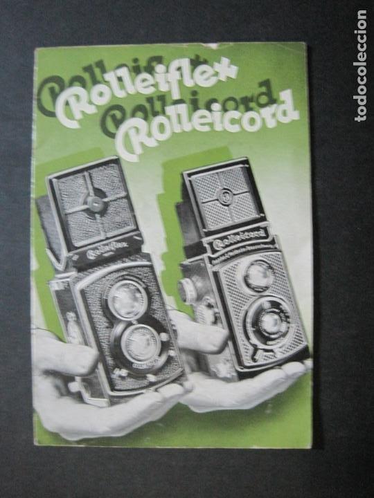 Cámara de fotos: ROLLEIFLEX & ROLLEICORD-CATALOGO PUBLICIDAD FOTOGRAFIA-VER FOTOS-(K-1570) - Foto 2 - 233308225