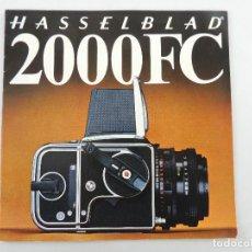 Cámara de fotos: MANUAL DE INSTRUCCIONES CAMARA HASSELBLAD 2000 FC. Lote 234731830