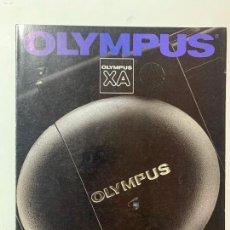Cámara de fotos: CATALOGO CAMARA DE FOTOS OLYMPUS XA XA2 DE 1988. Lote 235089205