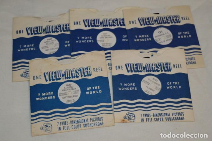 Cámara de fotos: VINTAGE - VIEW MASTER - 3 DIMENSIONES - VIEWER MODELO G - Buen estado, probado ¡Mira fotos/detalles! - Foto 7 - 235166345