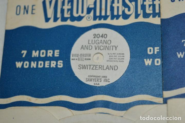 Cámara de fotos: VINTAGE - VIEW MASTER - 3 DIMENSIONES - VIEWER MODELO G - Buen estado, probado ¡Mira fotos/detalles! - Foto 9 - 235166345