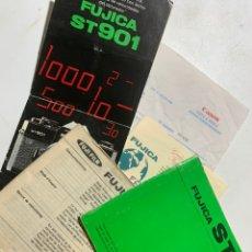 Cámara de fotos: MANUAL DE INSTRUCCIONES DE LA CÁMARA DE FOTOS FUJICA ST901 DE 1976 CATALOGO FACTURA. Lote 235336845