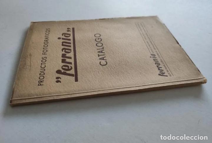 """Cámara de fotos: CATÁLOGO - PRODUCTOS FOTOGRÁFICOS """"FERRANIA"""" - AÑO 1939 - Foto 9 - 235846570"""