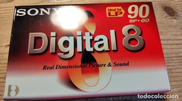 SONY DIGITAL 8 VIDEOCÁMARA CINTA/CASSETTE. N8-60P2 (Cámaras Fotográficas - Otras)