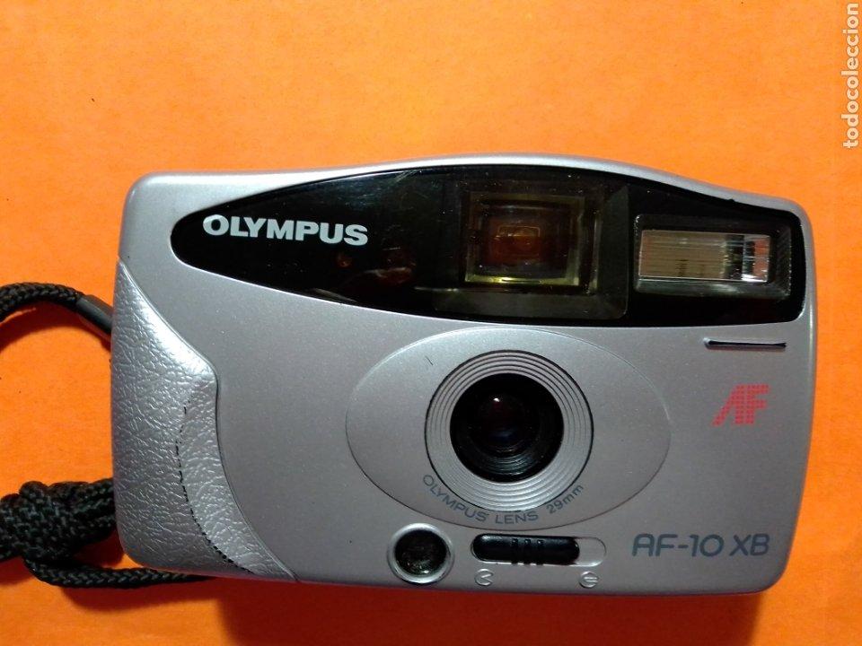 CAMARA DE FOTOS OLIMPUS AF-10 XB CON SU FUNDA,FUNCIONANDO MUY BUEN ESTADO (Cámaras Fotográficas - Otras)