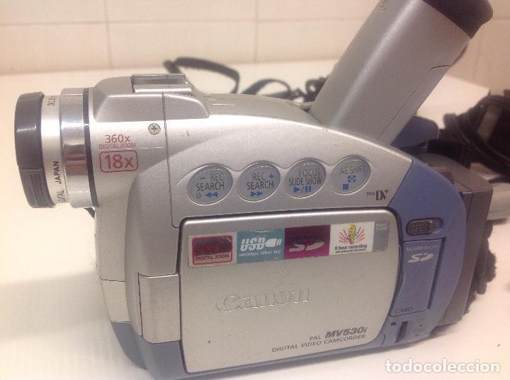 Cámara de fotos: Camara de video Canon MV530i - Foto 2 - 236635555