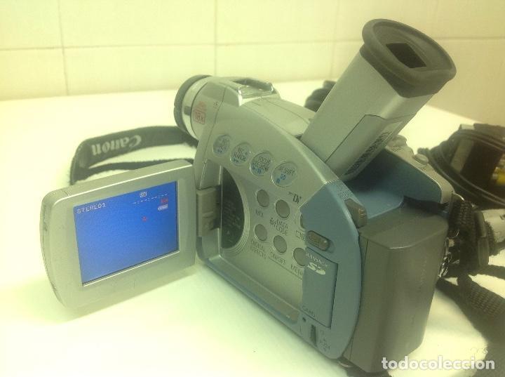 Cámara de fotos: Camara de video Canon MV530i - Foto 3 - 236635555