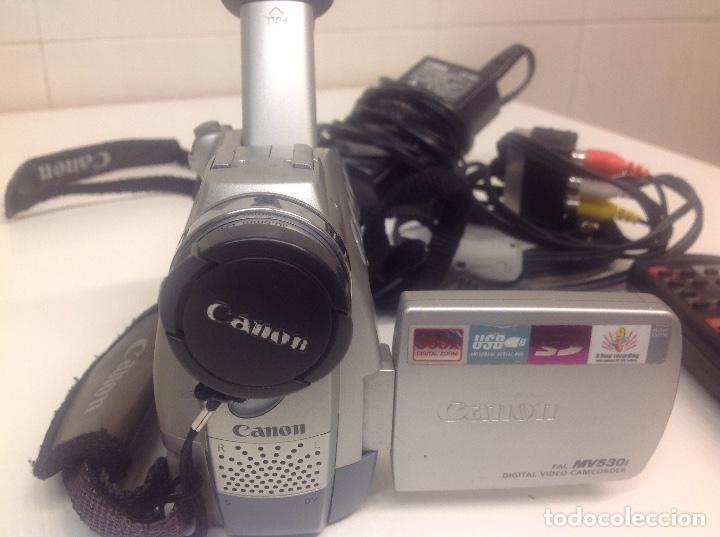 Cámara de fotos: Camara de video Canon MV530i - Foto 4 - 236635555
