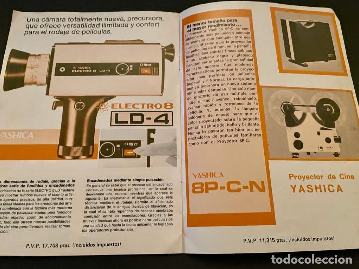 Cámara de fotos: CATALOGO CÁMARAS YASHICA - Foto 3 - 237001385