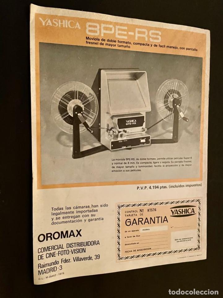 Cámara de fotos: CATALOGO CÁMARAS YASHICA - Foto 4 - 237001385