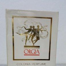 Cámara de fotos: ORGIA COLONIA PERFUME MYRURGIA ESPAÑA 6 1/2 OZ NO 794. Lote 237594815