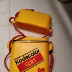 Cámara de fotos: MONEDERO KODAK. KODACOLOR GOLD. AÑOS 90. PUBLICIDAD. Lote 237942780