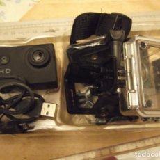 Cámara de fotos: CÁMARA DEPORTIVA FULL HD 1080 P. Lote 239371415