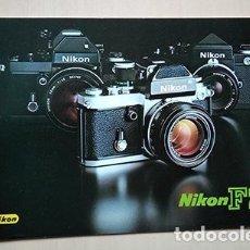 Cámara de fotos: NIKON F2. FOLLETO EN ESPAÑOL, PRINTED IN JAPAN. 1970S. Lote 239487065