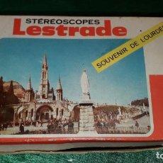 Fotocamere: STEREOSCOPES LESTRADE SOUVENIR DE LOURDES. Lote 239870545