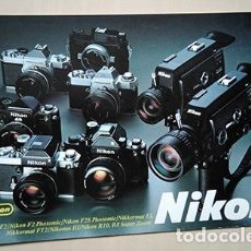 Cámara de fotos: NIKON. GAMA CÁMARAS 35 MM Y CINE S8. AÑOS 1970. Lote 240061640