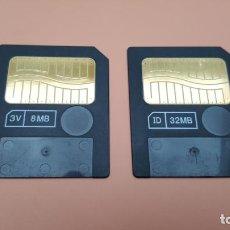 Cámara de fotos: TARJETAS DE MEMORIA SMART MEDIA OLYMPUS. Lote 241747160