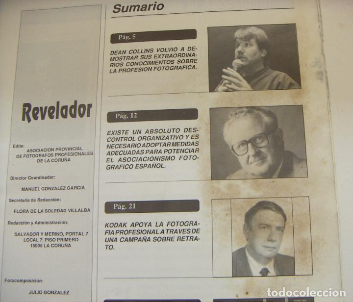 Cámara de fotos: Revista Revelador Diciembre 1991 Nº 3 - Foto 2 - 242233825