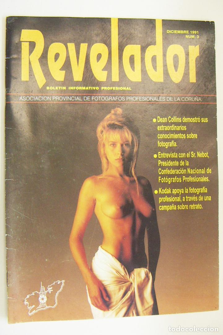 REVISTA REVELADOR DICIEMBRE 1991 Nº 3 (Cámaras Fotográficas - Catálogos, Manuales y Publicidad)