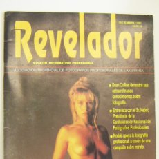 Cámara de fotos: REVISTA REVELADOR DICIEMBRE 1991 Nº 3. Lote 242233825