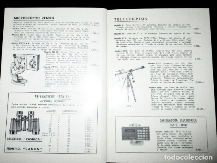 Cámara de fotos: CATÁLOGO DE CÁMARAS CANON, NIKON, YASHICA, MINOLTA, ETC. ALMACENES VINALVA, GIJÓN, 1974. - Foto 6 - 242901875