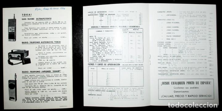 Cámara de fotos: CATÁLOGO DE CÁMARAS CANON, NIKON, YASHICA, MINOLTA, ETC. ALMACENES VINALVA, GIJÓN, 1974. - Foto 9 - 242901875