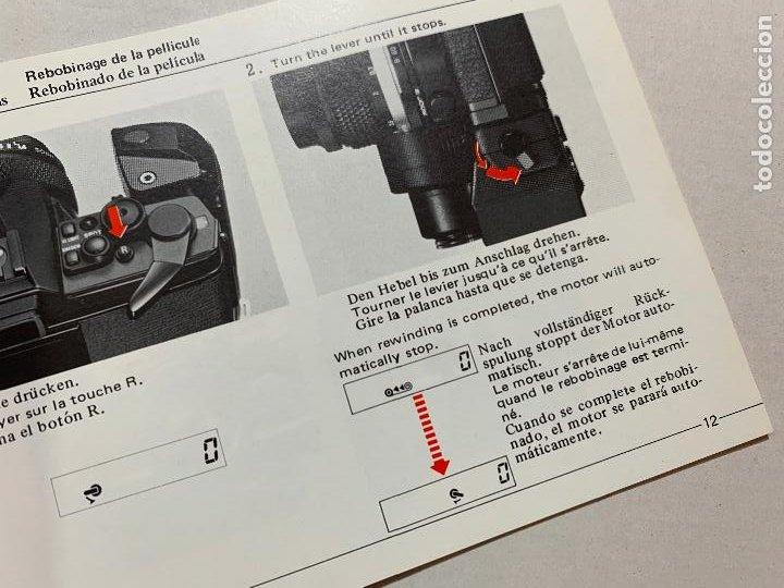 Cámara de fotos: MANUAL DE INSTRUCCIONES CAMARA DE FOTOS OLYMPUS OM ACCIONAMIENTO MOTORIZADO 2 DE 1984 - Foto 2 - 243555210