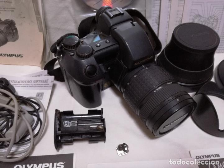 Cámara de fotos: CAMARA FOTOGRAFICA / VIDEO - OLYMPUS E-20P + 2 LENTES - Foto 2 - 243563775