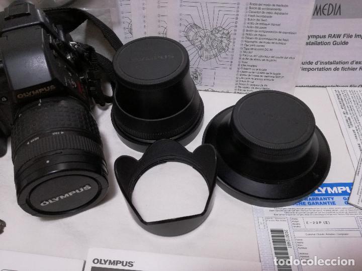 Cámara de fotos: CAMARA FOTOGRAFICA / VIDEO - OLYMPUS E-20P + 2 LENTES - Foto 3 - 243563775