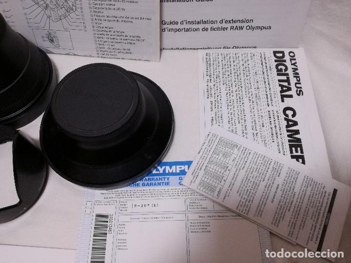 Cámara de fotos: CAMARA FOTOGRAFICA / VIDEO - OLYMPUS E-20P + 2 LENTES - Foto 5 - 243563775