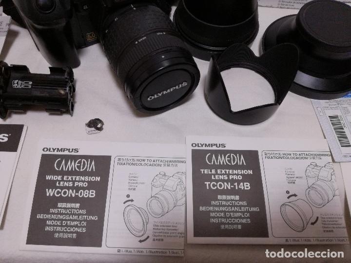 Cámara de fotos: CAMARA FOTOGRAFICA / VIDEO - OLYMPUS E-20P + 2 LENTES - Foto 7 - 243563775