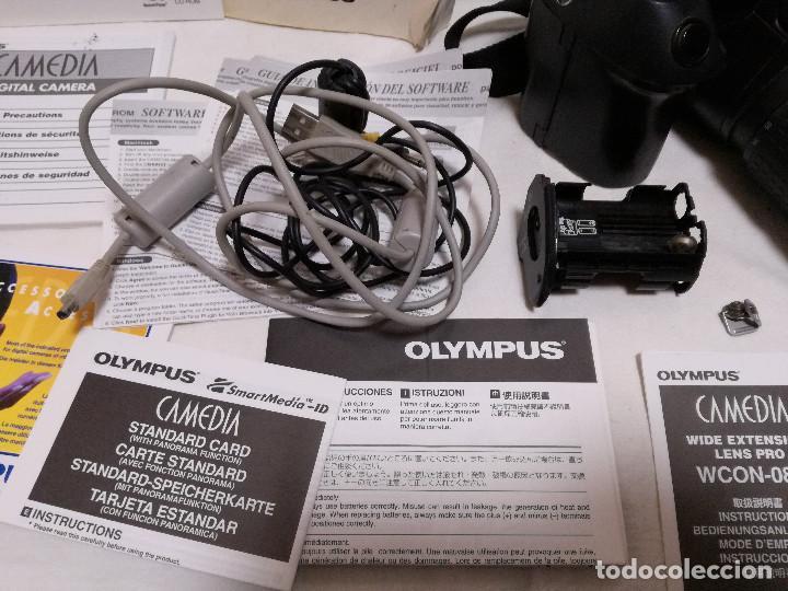 Cámara de fotos: CAMARA FOTOGRAFICA / VIDEO - OLYMPUS E-20P + 2 LENTES - Foto 8 - 243563775